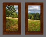 Photo Mural 6npL_2-22x40vr_rustic_walnut
